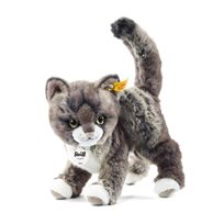 Kitty Cat 25 cm, Grey/Beige