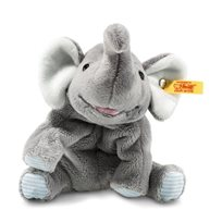 Floppy Trampili Elephant 16 cm, Grey