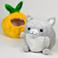 Squishable Undercover Kitty In Pineapple