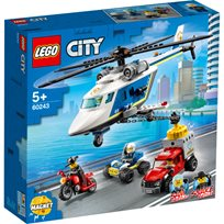 Lego City - Polishelikopterjakt