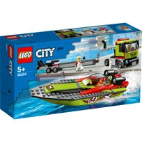 Lego City - Racerbåttransport