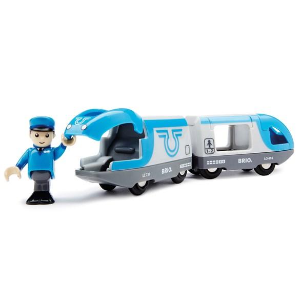 Passagerartåg, batteridrivet