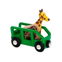Djurtransport giraff