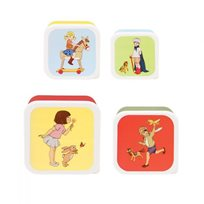 Set Of Four Snack Boxes