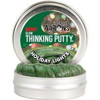Thinking Putty, Mini Glow, Holiday Lights