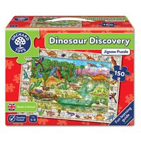 Pussel 150 Bitar, Dinosaur Discovery