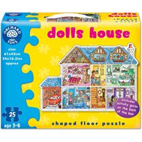 Pussel 25 Bitar, Dolls House