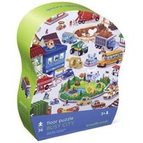 Floor Puzzle 36 Pcs, Busy City