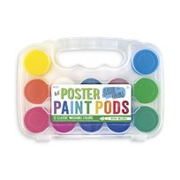 Lil' Poster Paint Pods & Brush Classic Colors