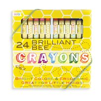 Brilliant Bee Crayons, 24-P