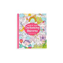 Color-In Book, Enchanting Unicorns