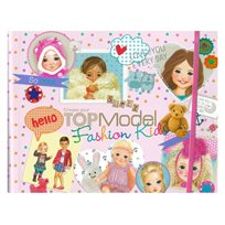 Topmodel Kids Fashion Målarbok