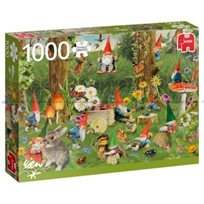 Pussel Gnomes At The Forest Edge, 1000 Bitar