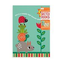 Sunshine Garden Sketchbook, 2-P