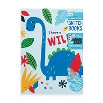 Dino Days Sketchbook, 2-P