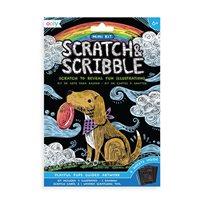 Scratch & Scribble Mini - Playful Pups