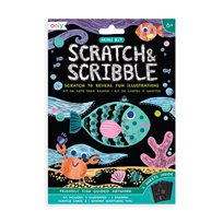 Scratch & Scribble Mini - Friendly Fish