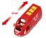 Rött uppladdningsbart tåg