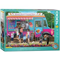 Dan´s ice cream van, 1000 bitar