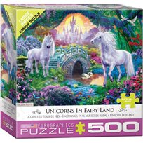 Unicorn In Fairy Land, 500 Bitar