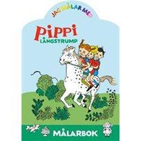 Jag målar med Pippi Långstrump