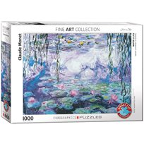 Waterlilies - Monet, 1000 Bitar