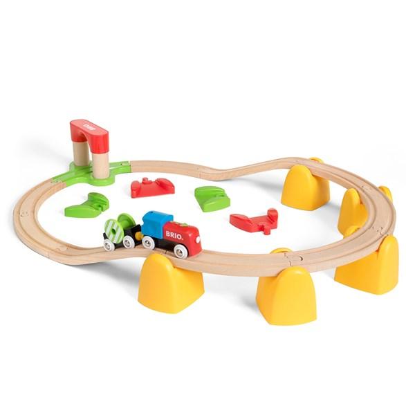 Min första järnväg – batteridrivet tågset