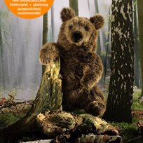 Brunbjörn, 38 cm