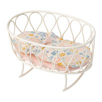 Cradle with sleeping bag, micro, off-white