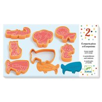 Cookie cutters and stamps, wild animals
