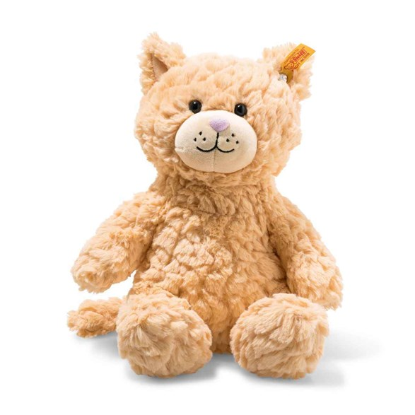 Soft cuddly friends whiskers cat 28 cm, apricot