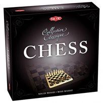 Schackset i kartong, bräde 24 x 24 cm