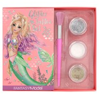 Fantasy glitter tattoo set mermaid